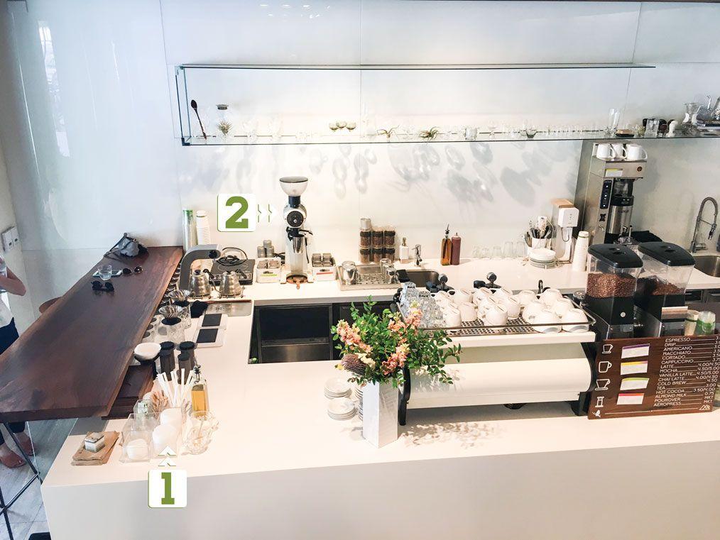 bí mật phía sau quầy bar của quán cà phê hiện đại little owl 2