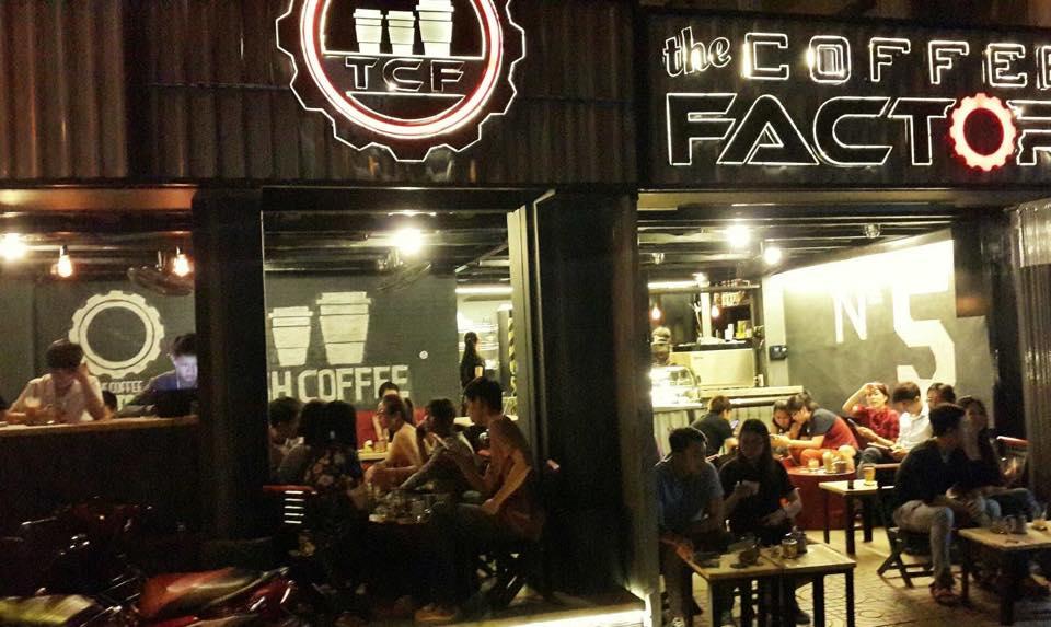 Thức Coffee, Factory Coffee là những quán cafe mới nổi từ năm 2015