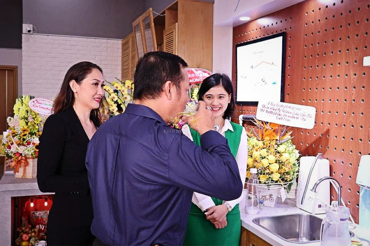 call me q2 khoi nghiep cafe May pha cafe Faema E98 RE A2 2 group may xay cafe Faema On Demand 14