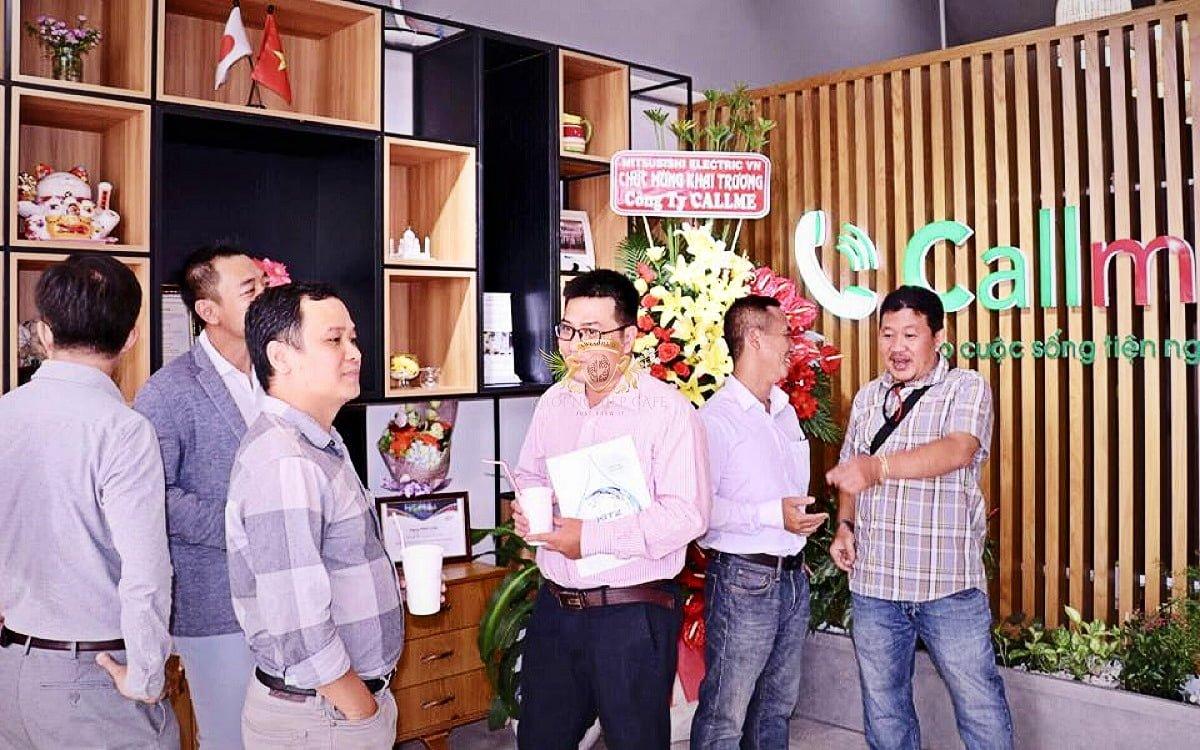 call me q2 khoi nghiep cafe May pha cafe Faema E98 RE A2 2 group may xay cafe Faema On Demand 7