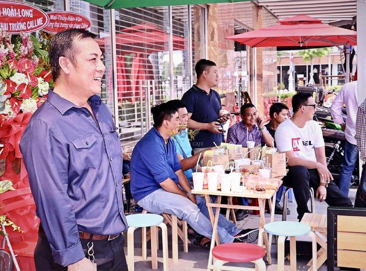 call me q2 khoi nghiep cafe May pha cafe Faema E98 RE A2 2 group may xay cafe Faema On Demand 9