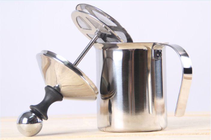 dụng cụ tạo bọt sữa - cách làm capuchino đơn giản