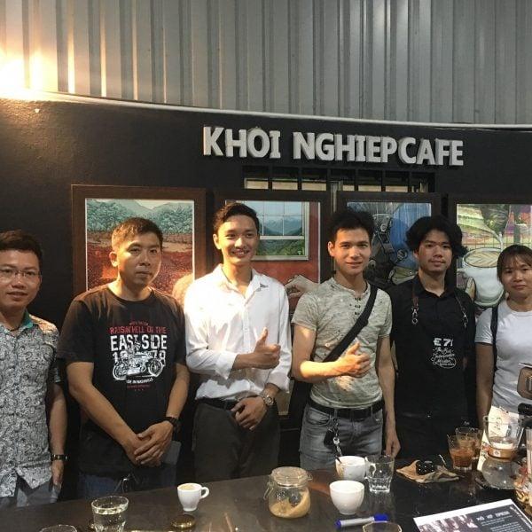 day pha che cafe espresso pha may barista sai gon
