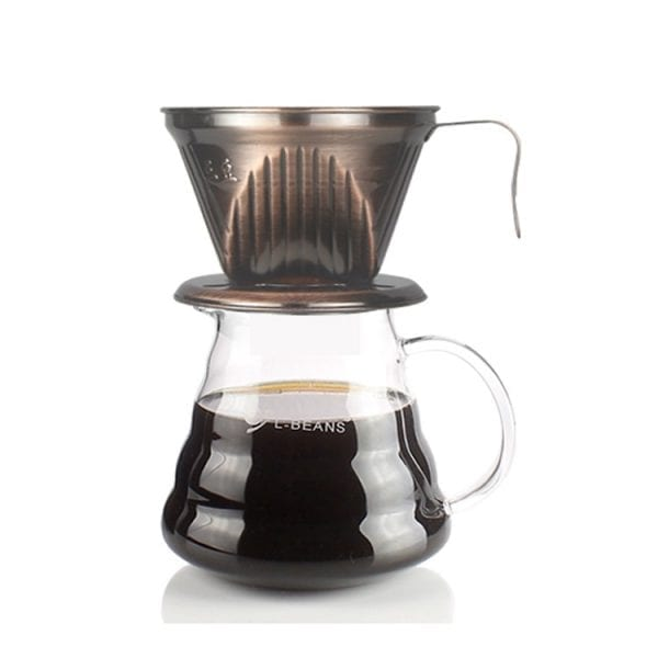 dung cu pha cafe pour over bee house coffee dripper 2-4 cups viet nam