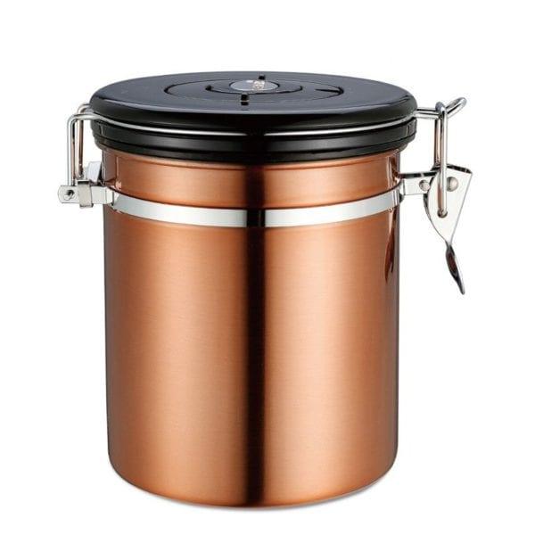 hũ đựng cafe degas coffee bean degas container đồng thau