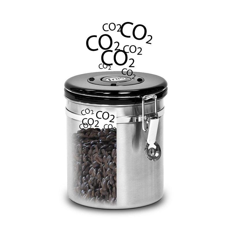 hũ degas cà phê