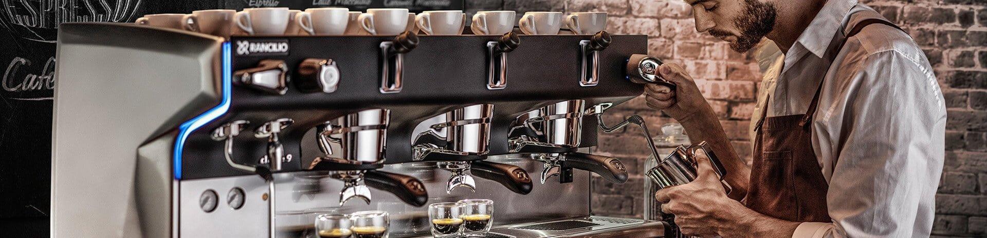 khoi nghiep cafe ban may pha cafe 2 group rancilio viet nam