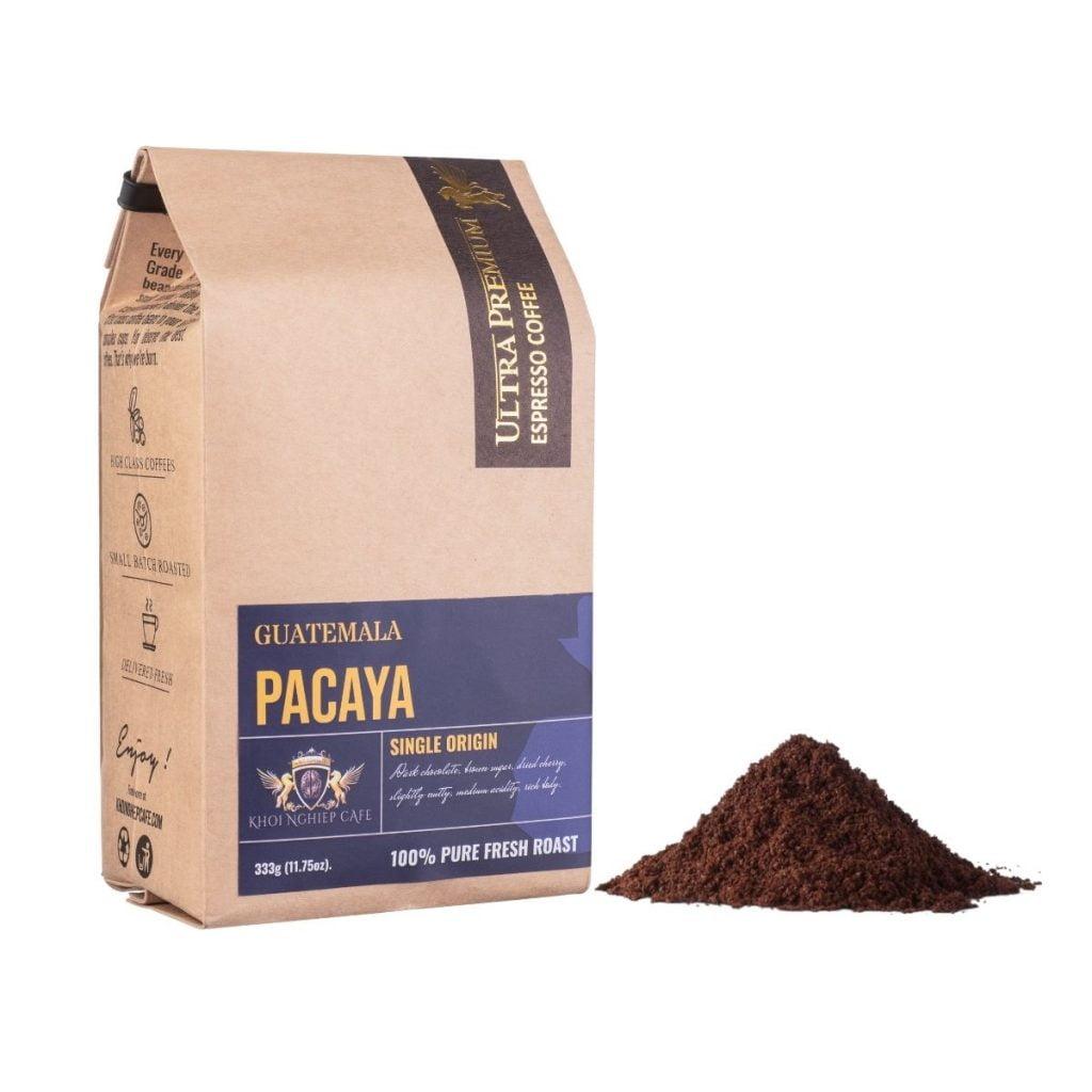 khoi nghiep cafe bot arabica pacaya guatemala chau my cao cap pha phin viet nam qua tang