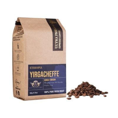 khoi nghiep cafe hat arabica yirgacheffe ethiopia chau phi cao cap nguyen chat sach 100 pha may espresso chuan y qua tang viet nam