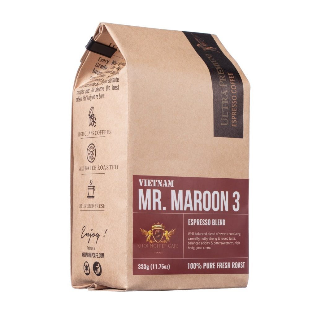 khoi nghiep cafe mr maroon 3 cafe hat cao cap chuan y pha may espresso vietnam