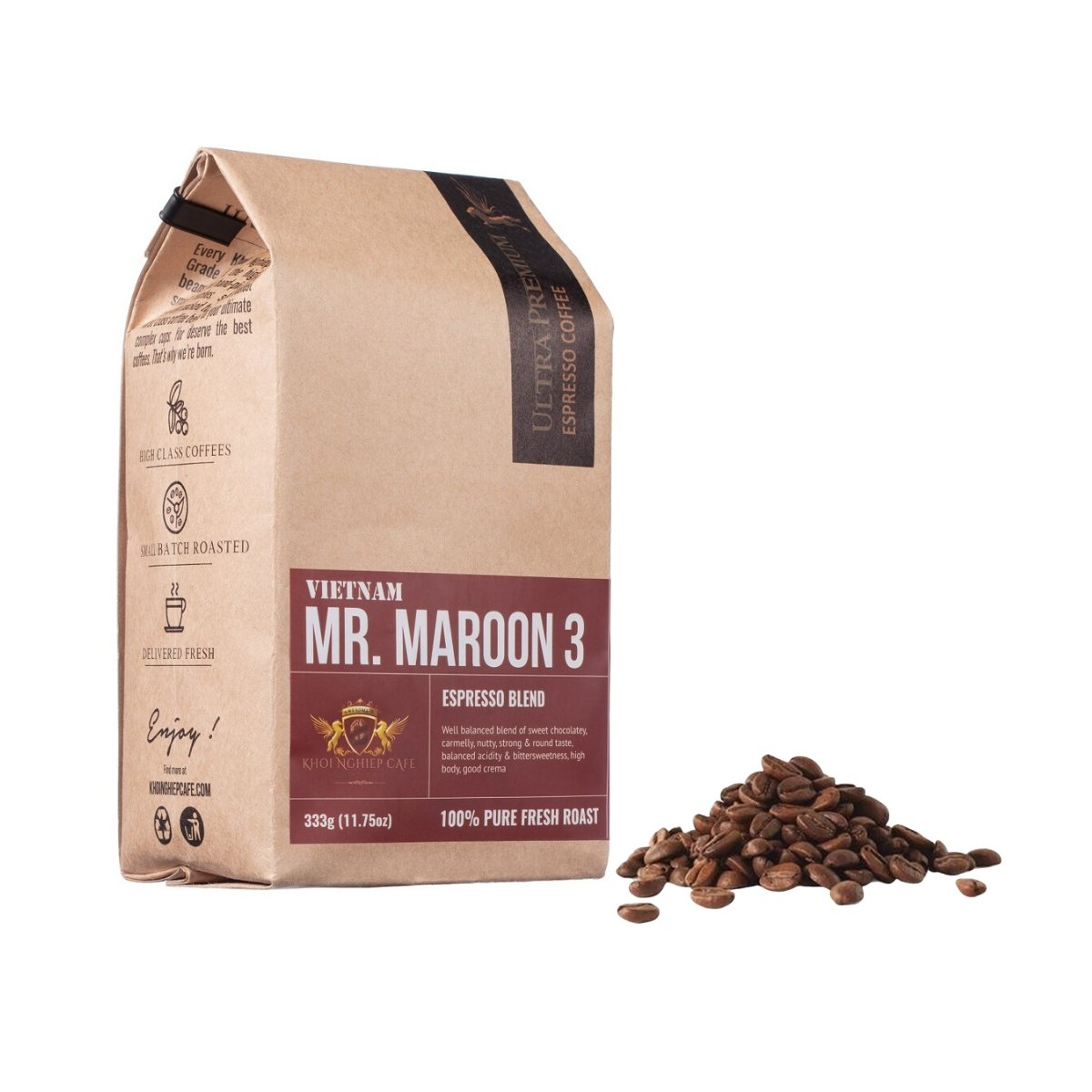 khoi nghiep cafe mr maroon 3 cafe hat ngon chuan y pha may espresso vietnam hcm