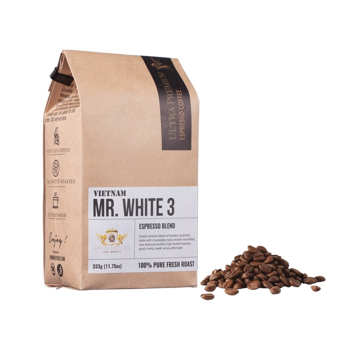 khoi nghiep cafe mr white 3 cafe hat ngon chuan y pha may espresso vietnam hcm