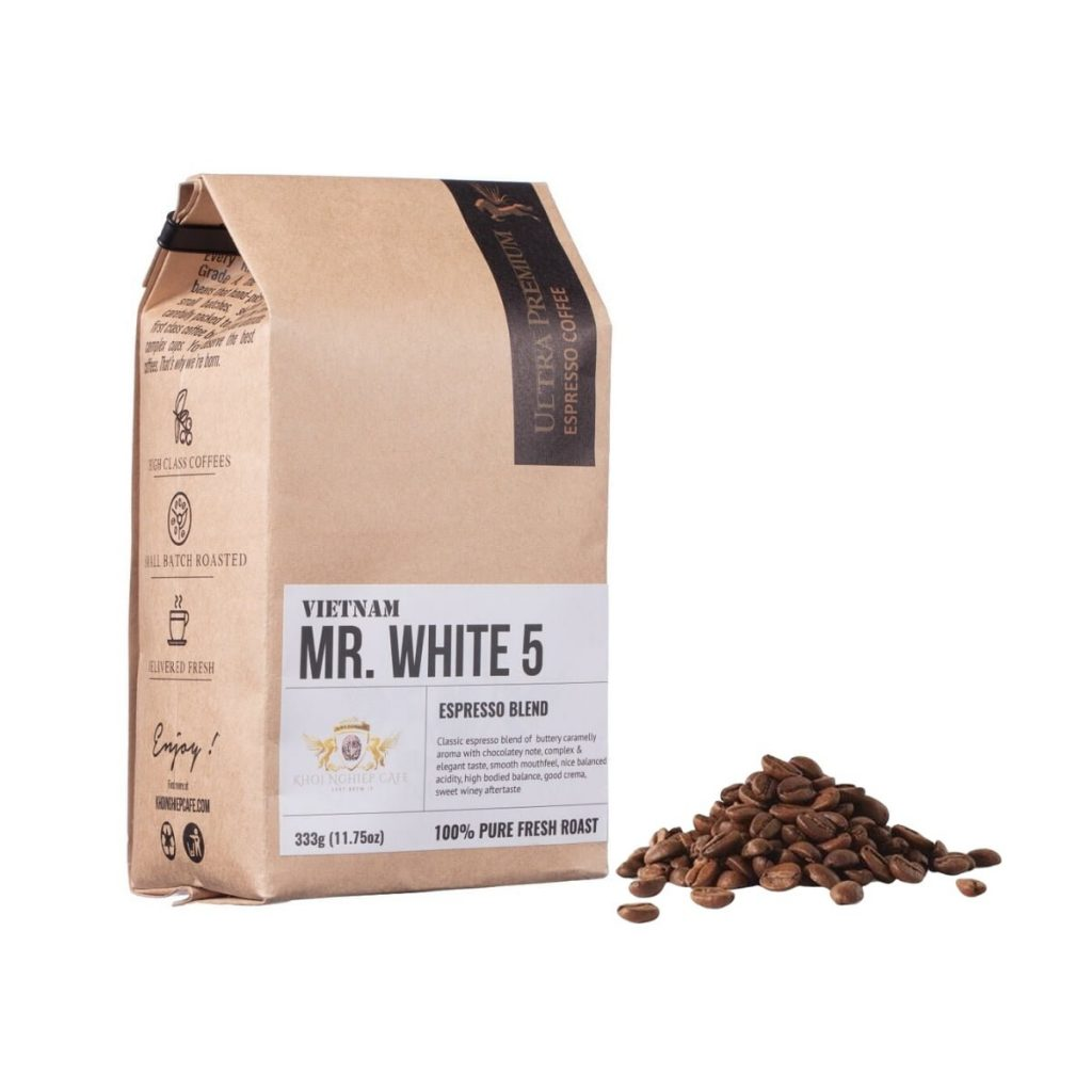 khoi nghiep cafe mr white 5 cafe hat ngon chuan y pha may espresso vietnam hcm