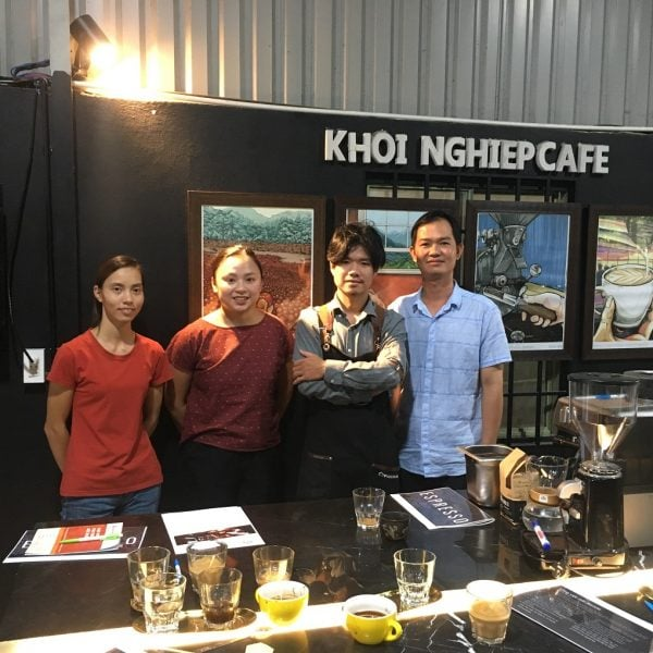 lop hoc pha che cafe espresso sai gon