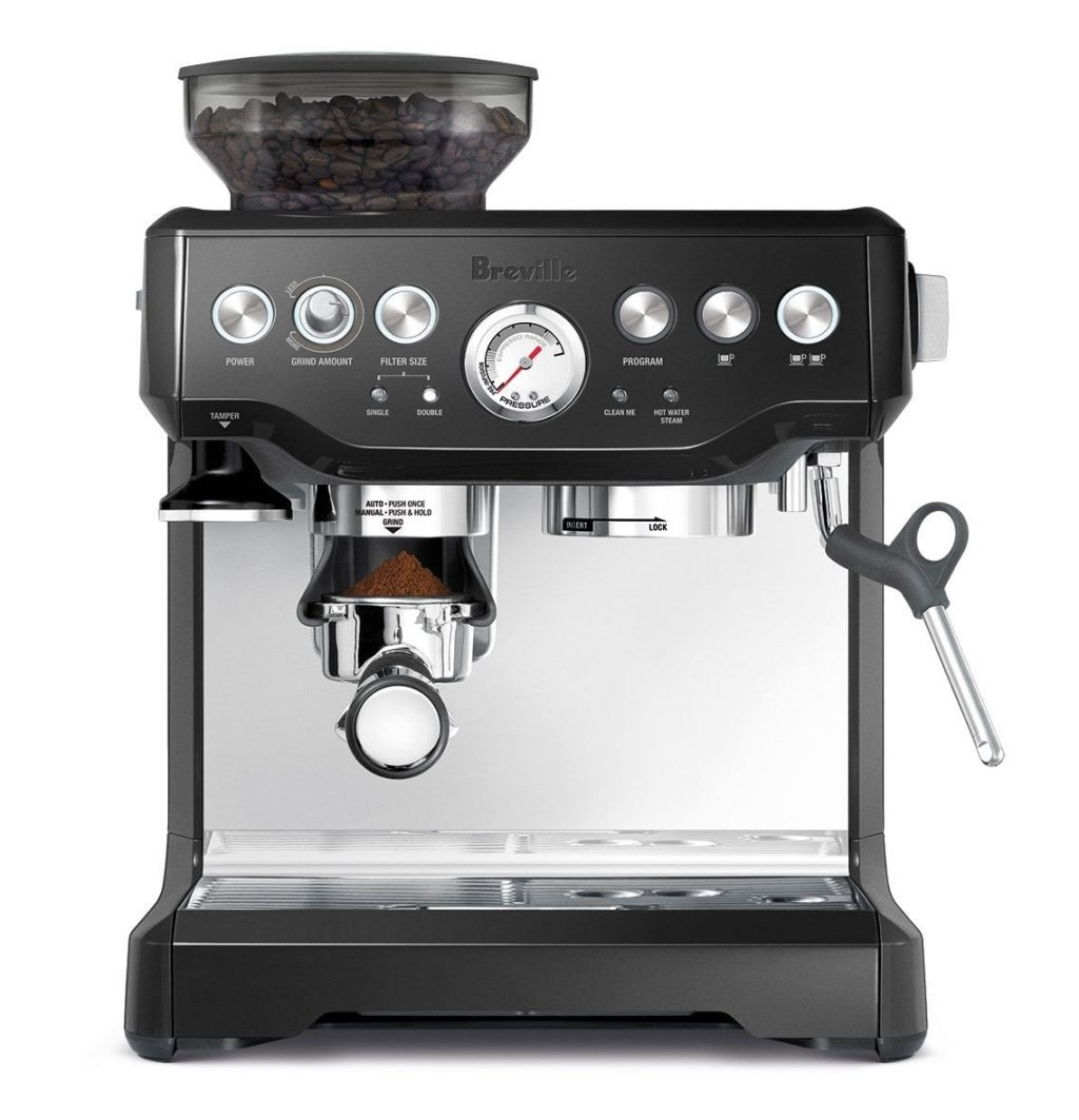 may pha cafe espresso breville 870xl mau den