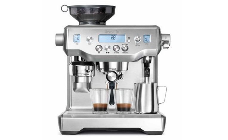 may pha cafe espresso chuyen nghiep breville the oracle bes 980 xl viet nam khoi nghiep cafe