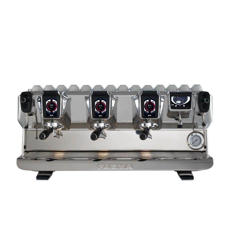 may pha cafe espresso chuyen nghiep italy faema e71 3 groups