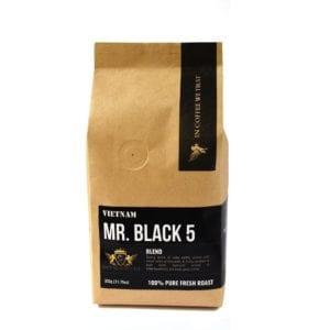 mr black 5 cafe espresso ngon làm từ 05 loại hạt cafe chỉ sử dụng cafe xuất khẩu loại 1 trở lên 1
