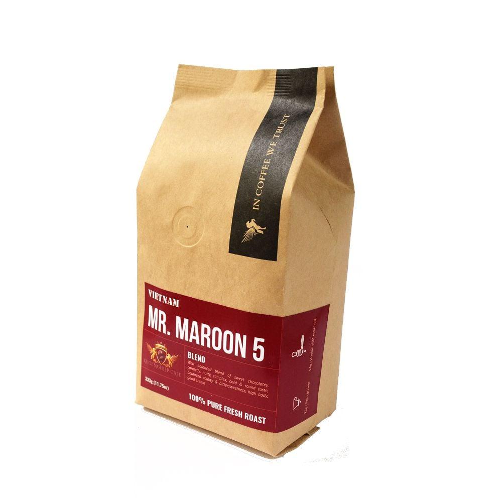 mr maroon 5 cà phê espresso ngon làm từ 5 loại hạt cafe xuất khẩu loại 1 trở lên 1
