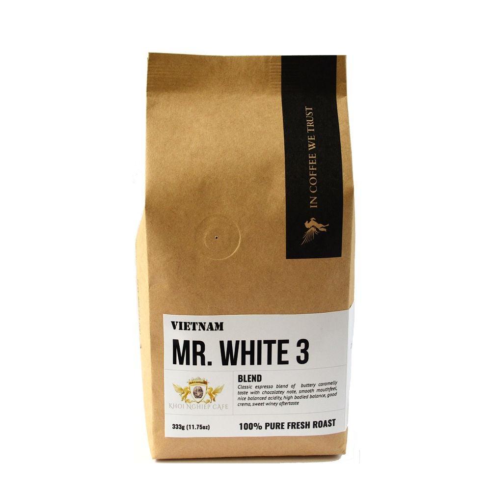 mr white 3 cafe espresso ngon chỉ sử dụng hạt cafe xuất khẩu loại 1 trở lên 2