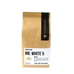 mr white 5 cafe hạt xuất khẩu loại 1 để làm cà phê espresso ngon
