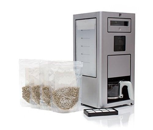 mua ban may rang xay pha cafe gia dinh bonaverde silver roast -grind -brew coffee machine