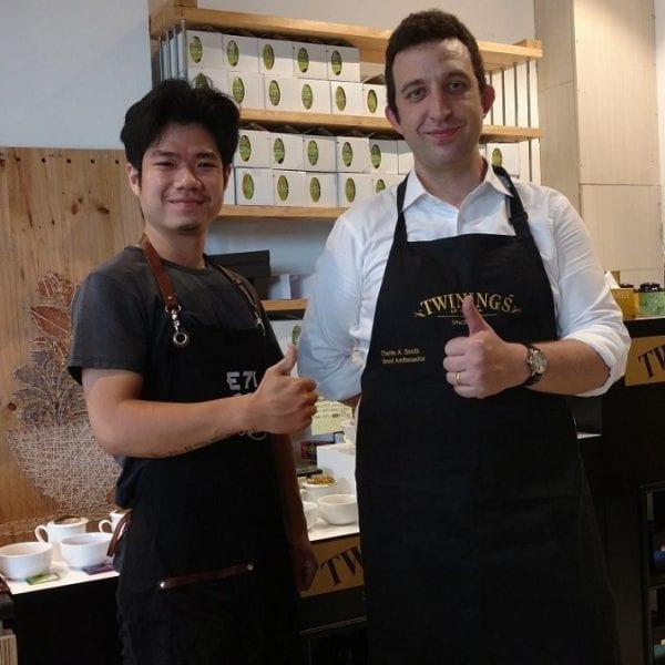 setup quan cafe espresso lop hoc pha che cafe barista sai gon hcm
