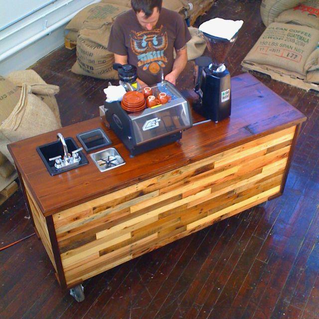xe quầy cafe espresso, mở quán cafe espresso
