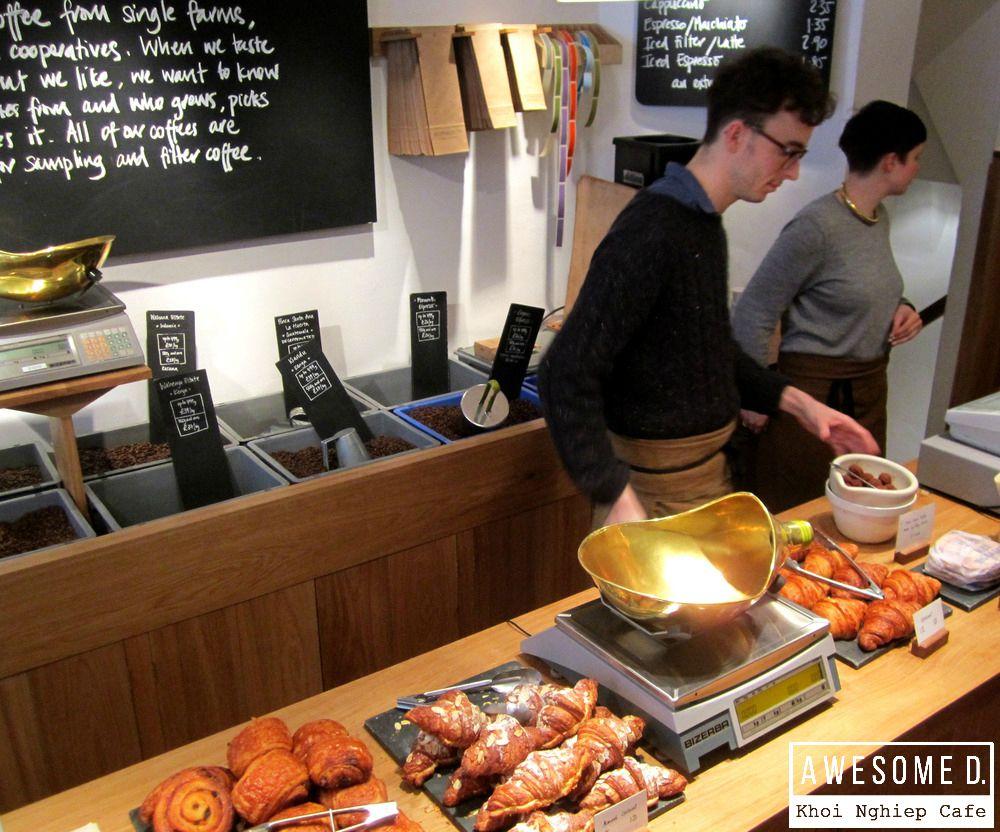 z[khoinghiepcafe.com] Monmouth Coffee - Một huyền thoại của London 3