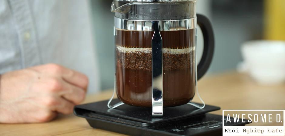z[khoinghiepcafe.com] Pha cà phê bằng bình French Press 6